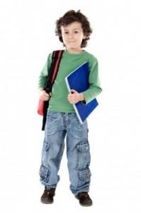 School age boy